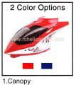 Canopy Head cover JTS 825 RC helicopter spare parts