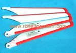 Red main blades Mjx R/C T-SERIES T-34 JX T634 helicopter parts