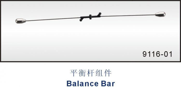 9116-01 Balance bar Double Horse RC helicopter Shuang ma parts - Click Image to Close