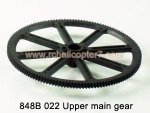 848B Upper main gear HuanQi Huan Qi RC helicopter parts