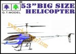53 inch GYRO QS8006 Metal 3.5 CH RC Helicopter Extra Large Size