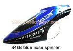 848B Blue nose spinner head HuanQi Huan Qi RC helicopter parts