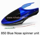 850 Blue Nose spinner unit HuanQi Huan Qi helicopter spare parts
