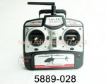 Transmitter 5889-028 G.T.Model 5889 Helicopter parts
