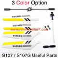 Useful parts set Syma S107 S107G RC helicopter spare parts