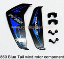 850 Blue Tail wind rotor component Huan Qi RC helicopter parts