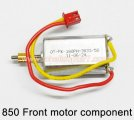 850 Front motor component HuanQi Huan Qi helicopter spare parts
