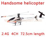 2.4G 4CH handsome Single Rotor RC Helicopter G.T.Model QS9019