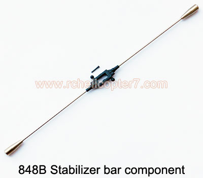 848B Stabilizer bar component HuanQi Huan Qi RC helicopter parts - Click Image to Close