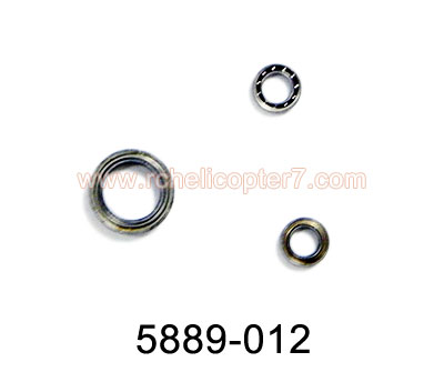 Bearing 5889-012 G.T.Model 5889 RC Helicopter spare parts - Click Image to Close
