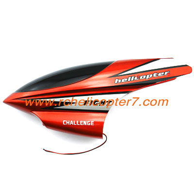 A1 Canopy Red Head cover HuanQi 803 803A 803B helicopter parts - Click Image to Close