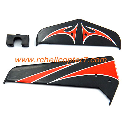 A1 Horizontal tail Red Huan Qi 803 803A 803B RC helicoter parts - Click Image to Close