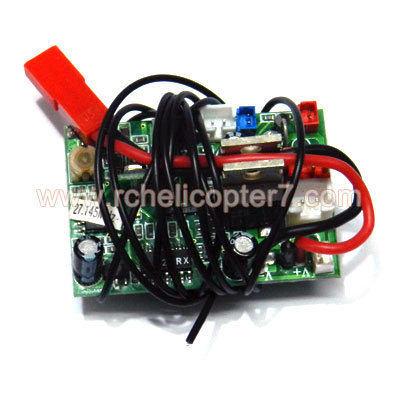 823 823A 823B Receiver set Huan Qi Huanqi helicopter spare parts - Click Image to Close