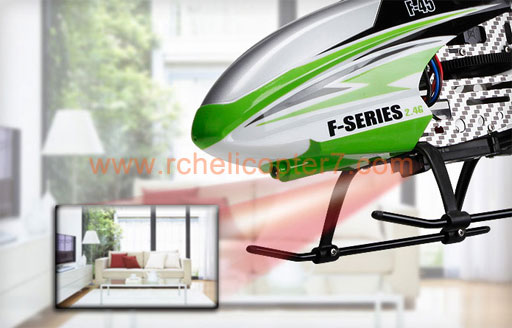 4CH 2 4G Single Blade RC Helicopter MJX F45 F645 Shuttle