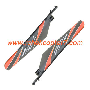Main blade orange V911 WLtoys WL RC helicopter parts - Click Image to Close