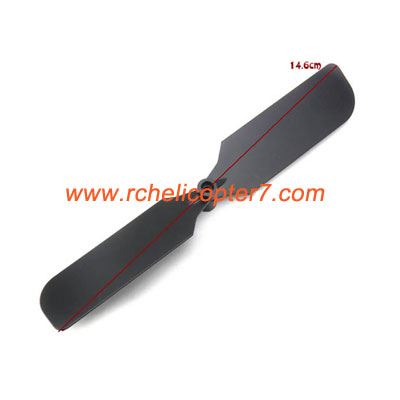 Tail rotor blade JTS 828A 828B RC helicopter spare parts - Click Image to Close