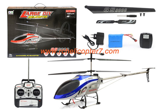 New Largest 66 Inch Long RC helicopter GT QS8008 Big toy