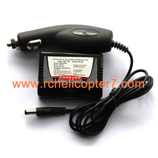 Car charger & Charge controller 7.4V RC helicopter spare parts - Click Image to Close
