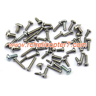 Screws Mjx Syma Shuang ma WL RC helicopter toy spare parts - Click Image to Close