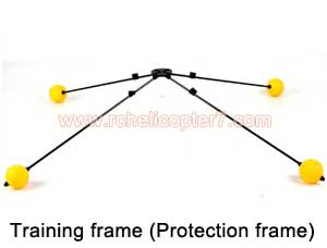 Training frame Protection frame spare parts for RC helicopters - Click Image to Close