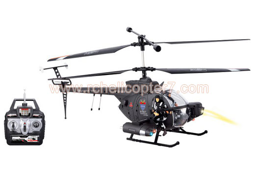 YD-911 Hughes Fighter 3.5 CH RC Helicopter with Gyro 18 inch - Click Image to Close